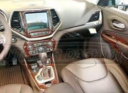 jeep cherokee sport interior 2017 jeep cherokee limited interior wood dash trim kit set 2014 2015 2016