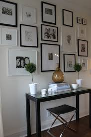 home interiors photo gallery black and white gallery wall joyce macfarlane interiors ideas