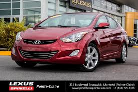 2013 hyundai elantra limited toit cuir camera nav low