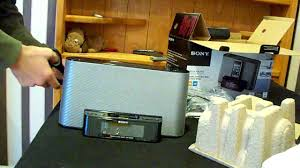 sony clock radio manual sony dream machine icf cs10ip speakers unboxing youtube