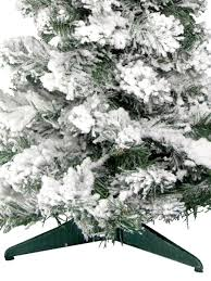flocked white table top tree 60cm trees the