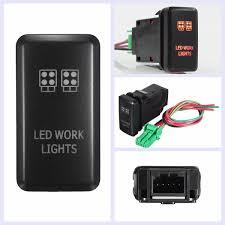 12 volt push button light switch 12v car 4 wiring blue led light bar switch push button switch on off