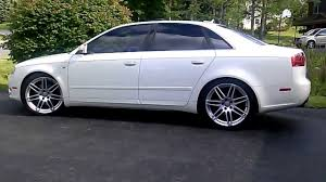 audi a4 b7 lowering springs rs4 19 on an audi a4 b7