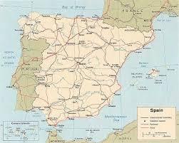 Valladolid Spain Map by Viva Espania June 1999