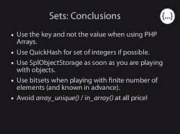 php array map php data structures and the impact of php 7 on them phpday verona