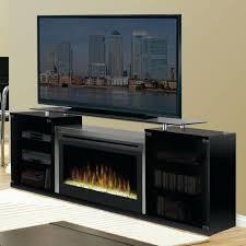 black electric fireplace media console muskoka reviews chimneyfree