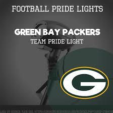 green bay packers lights green bay packers team pride light football pride lights