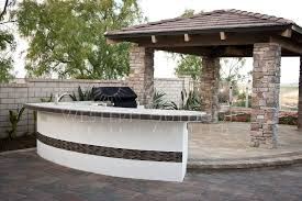 Stucco Patio Cover Designs San Diego Pavers Stucco Finish Bbq Islands Gallery By Western