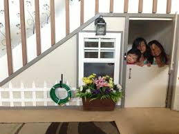 Stairs Book by Under The Stairs Play House Book Nook With Functioning Window