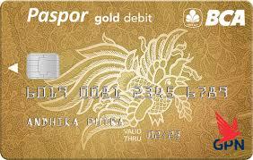 bca gold card paspor bca gpn