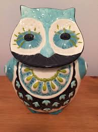 find more anthropologie owl cookie jar canister reduced price