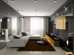 lighting ideas living room cable track lighting over white sectional sleeper sofa and brown rug