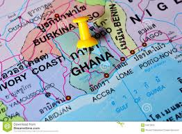 Map Of Ghana Ghana Map Stock Photography Image 22464662