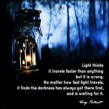 Fast Light Terry Pratchett Quote Quotes Pinterest Terry Pratchett
