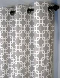 Grey And White Curtains Valuable Idea Grey And White Curtains Gotcha With Grommets Two