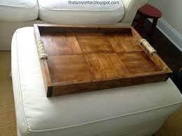 Wood Ottomans Ottoman Tray Large Inspiring Large Ottoman Tray With White Ottoman