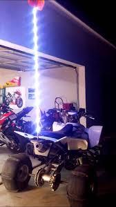 led light whip for atv atv led whip antenna rgbw 6ft fire stick youtube