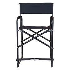 Tall Director Chairs Dura Tech Tall Folding Director U0027s Chair In Stall Drapes Chairs At
