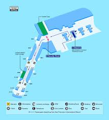 San Diego International Airport Map by Airport Guide International At The Airport In Flight