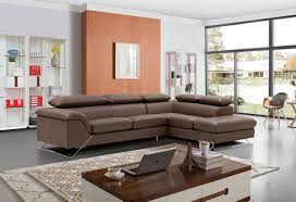 Leather Livingroom Furniture Caracas Sectional Full Leather Leather Sectionals Living Room