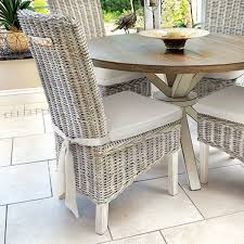 White Rattan Sofa Dining Room Rattan And Glass Dining Table Rattan Caster Chairs