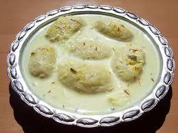 Rasmalai by Chef Saadat Siddiqi
