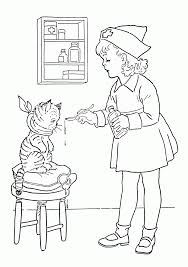 get well coloring pages for kids coloring home