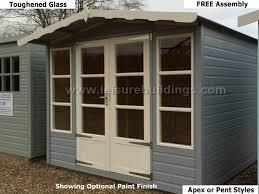 Summer Houses For Garden - top garden sheds workshops summer house buying tips