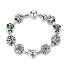 heart pendant bracelet images Antique 925 sterling silver heart charm bracelet diyosworld jpg
