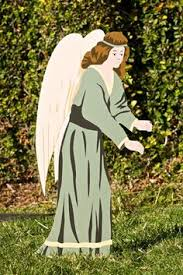 Christmas Yard Decorations Angel by Religious Christmas Decorations Slideshow Arbors Pinterest