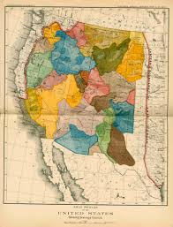 California S Great America Map by John Wesley Powell 19th Century Maps Of The American West New