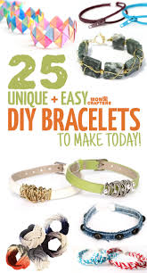 diy bracelets that are easy but beautiful moms and crafters