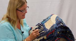 Rug Wool Yarn New Rug Hooking Group Led By Susie Stephenson Halcyon Yarn Blog