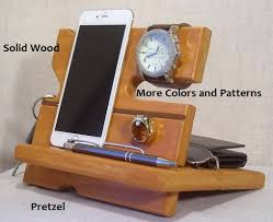 wood docking station wooden docking station cell phone dock