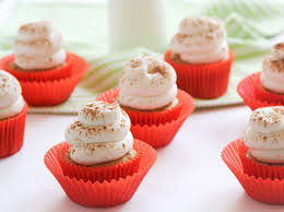 Pumpkin Cupcakes by Pumpkin Cupcakes With Cream Cheese Frosting