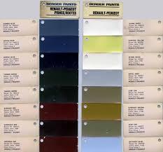 renault colour codes page 2
