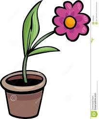 potted plant clipart black and white flower pot clip art cartoon