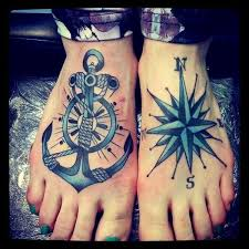 tattoo compass hand 50 cool anchor tattoo designs and meanings hative