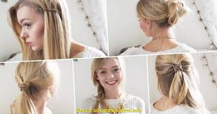 Sch E Hochsteckfrisurenen Mittellange Haare by Schön Frisuren Für Lange Haare Alltag Deltaclic