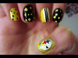 steelers nail designs image collections nail art designs