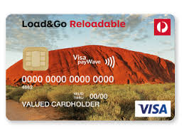 prepaid reloadable cards load go reloadable visa prepaid card australia post shop credit