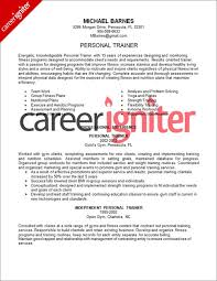 business trainer cover letter