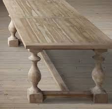 restoration hardware flatiron table my hunt for the perfect kitchen table driven by decor