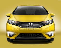 new led daytime running light for honda fit jazz fog lamp drl