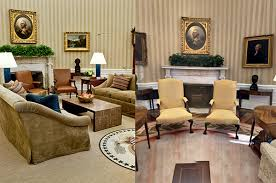 Oval Office Layout See The Changes Donald Trump Made To The Oval Office Aol Lifestyle