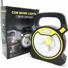 smart electrician rechargeable work light usb rechargeable 10w cob led work lights with round led light strobe