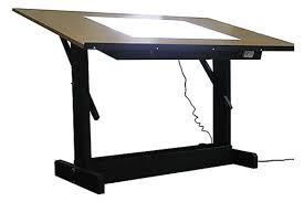Drafting Table With Light Box Drafting Table With Light Home Design Ideas And Pictures