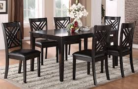 The Dining Room Brooklyn by Espresso 7 Piece 60x42 Rectangular Dining Room Set In Espresso