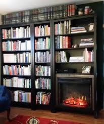 ikea fireplace hack bookshelf or fireplace i couldn t decide ikea hackers