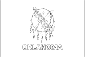 Flag Of Oklahoma Oklahoma State Flag